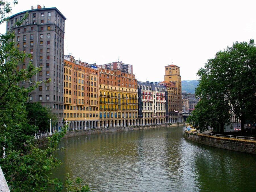 El casco antiguo de Bilbao